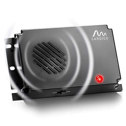 Gardigo Marder-Frei Mobil | Ultraschall Marderabwehr | Marderschreck Batteriebetrieben | Marderschutz für Auto, Dachboden, Haus