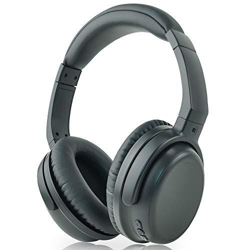 TSdrena Bluetooth ヘッドホン apt-x Low Latency 対応 テレビ鑑賞 ワイヤレス 密閉型 リモコン・マイク付 折りたたみ式 ブラック AUD-BHDPLL