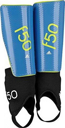 adidas Kinder Schienbeinschoner F50 S solar blue2 s14/semi solar yellow/white