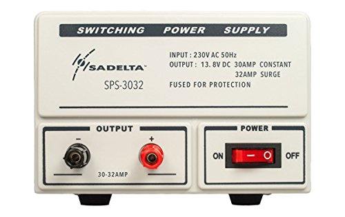 SADELTA SPS-3032 Fuente de Alimentación conmutada 13,8 voltios 30 a 32 amperios