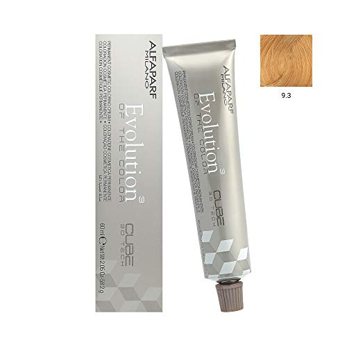 AlfaParf Evolution of the Color 9.3 Very Light Golden Blonde 60ml