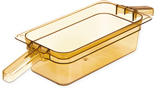 Why Should You Buy Carlisle 30861HH13 StorPlus High Heat Food Pan with 2 Handles, 4 Deep, Third Siz...