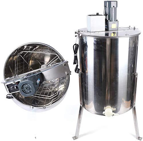 DiLiBee elektrische Honigschleuder 4 Rahmen Waben Honig Edelstahl Imkerei Schleuder