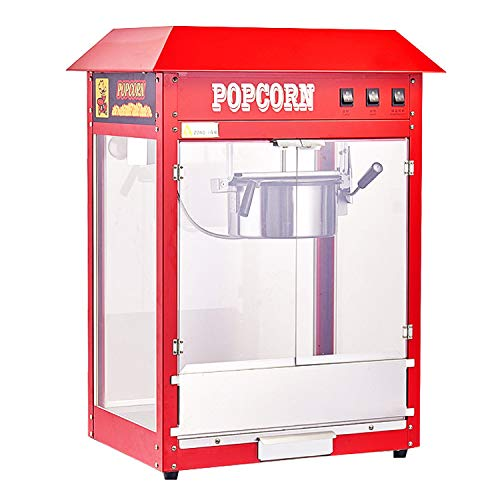 Buy Popcorn Maker Machine Commercial Electric Automatic Popcorn Machine Stainless Steel Thermal Insu...