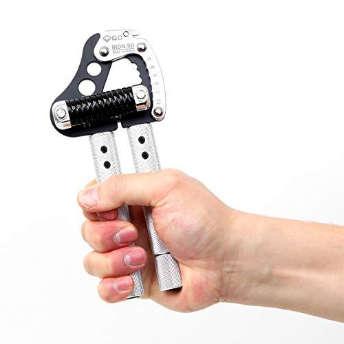 GD Iron Grip EXT 90 Hand Strengthener (Adjustable Hand Grip : 55 to 198lb) Hand Grip Hand Gripper Adjustable Hand Strengthener Wrist Strengthener Hand Workout