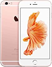Apple iPhone 6S, 32GB, Rose Gold - For AT&T / T-Mobile (Renewed)