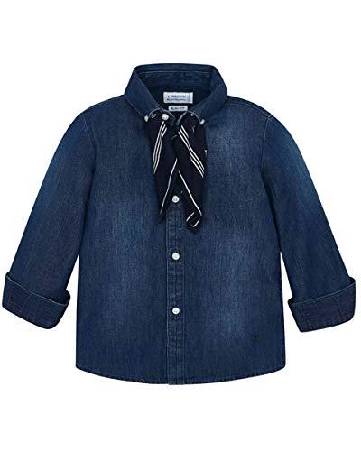 Mayoral Camisa vaquera infantil 052 Oscuro 7 años