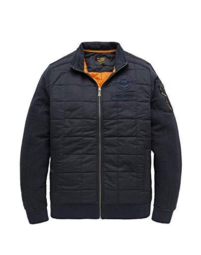 PME Legend Zip Jacket Structure Sweat, Kombi(Salute), Gr. M