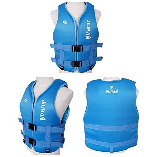 KCSds Chalecos Salvavidas para Adultos/niños, Vela Ligera PFD Ayuda a la flotabilidad, Chaleco Salvavidas para natación con Flotador de Seguridad Ajustable, para Pesca, Surf, Buceo, Rafting, Kayakin
