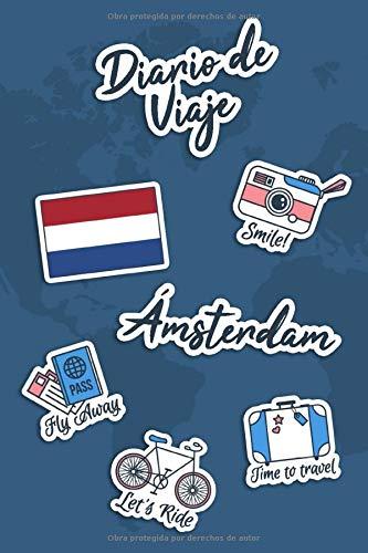 Diario de Viaje Ámsterdam: Diario de Viaje | 106 páginas, 15.24 cm x 22.86 cm | Para acompañarle durante su estancia.