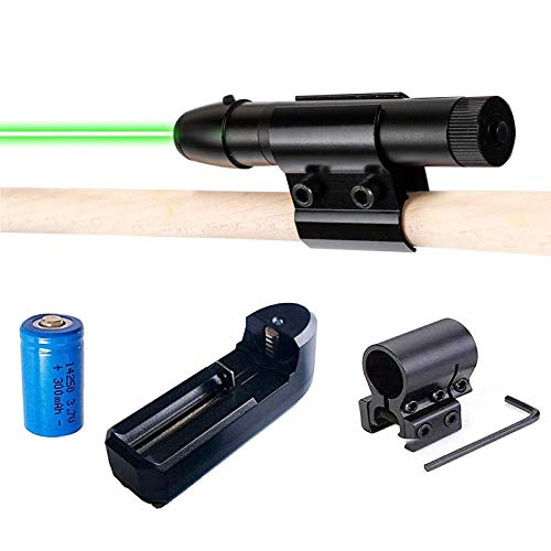 123 Life Pool Cue Láser Síght, Billiard Sights, Billiard Collimation Training Device Practice Aid Corrector, Red/Green Dot Cue Sight, Beginners Precise Shots Guide