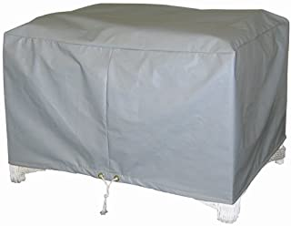 Protective Covers Weatherproof Ottoman Cover, Large, Gray - 1116