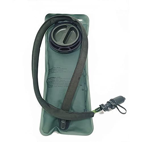 Bolsa de hidratación premium de 2 litros, sin BPA, antibacteriana y a prueba de fugas, bolsa de hidratación para mochila con manguera sin BPA, 2 litros, para senderismo, ciclismo, escalada, exteriores