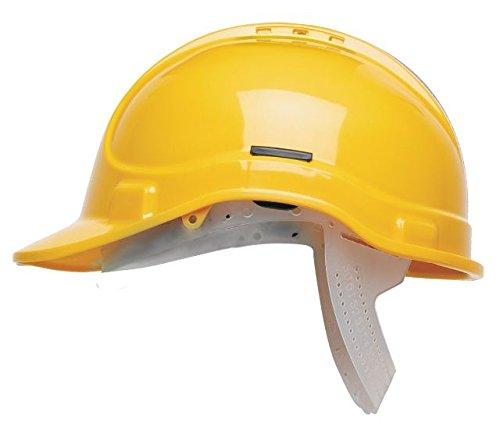 HC335//Y Scott Safety Ratschenhelm mit Frottee SB gelb unvented