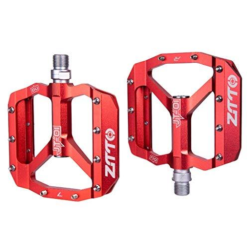 Pedali piatti MTB Pedali bici Pedali ultraleggeri Cuscinetti di migliore qualità