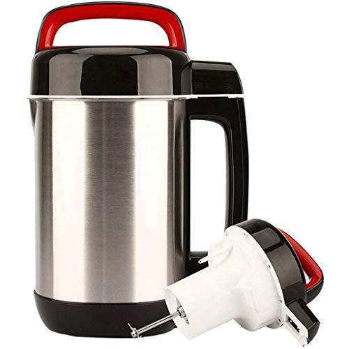 TWDYC Soymilk machineJuicer 1.2L Frühstück Soyabohnemilchhersteller Automation Soymilk Maschine Jam-Maschine Milchshake-Maschine Mahlen von Getreide Entsafter,