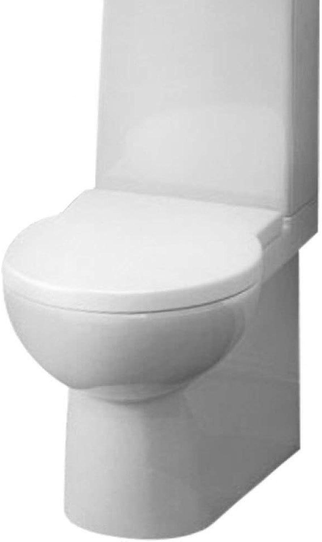 WC-Sitze An Der Wand Befestigter WC-Deckel-Tropfen Stummes Antibakterielles Harnstoff-Formaldehyd Oben Angebrachtes Geeignetes Für Familien-Toiletten-Deckel-Befestigungs-Blende