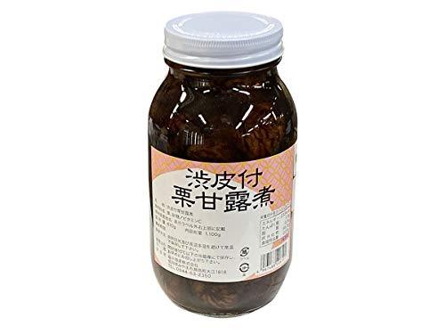 韓国産 渋皮付栗甘露煮 1100g(固形量:610g)