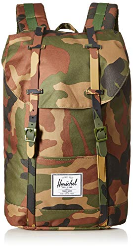 Mochila Herschel Retreat Woodland Camo