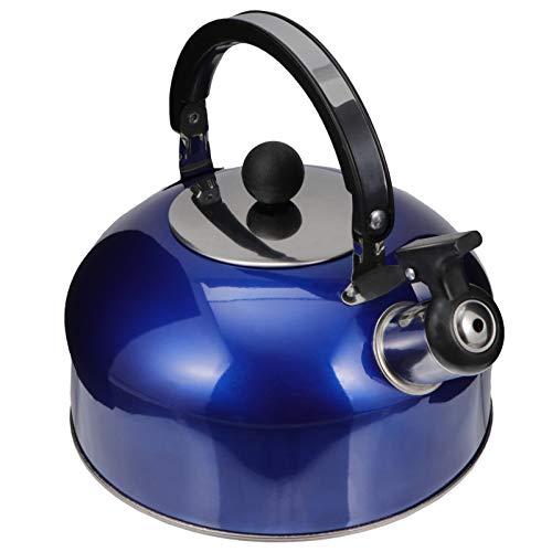 tea kettle stovetop blue - 6