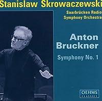 ブルックナー:交響曲第1番(ザールブリュッケン放送響/スクロヴァチェフスキ)