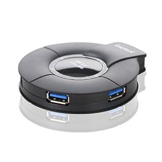 Inateck hub usb 3.0 4 Ports avec alimentation externe 5V 4A câble de données USB3.0, compatible avec Windows XP / Vista / 7 / 8, MacOS-X 10.8.4, Linux (B00BPKSQ4G)   Amazon price tracker / tracking, Amazon price history charts, Amazon price watches, Amazon price drop alerts