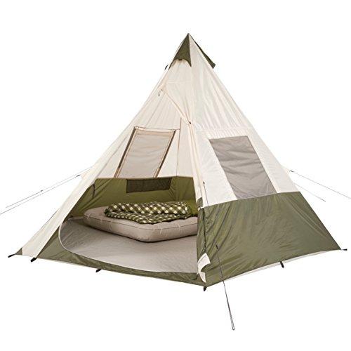OZARK Trail Family Cabin Tent (Khaki/Cream, 7 Person)