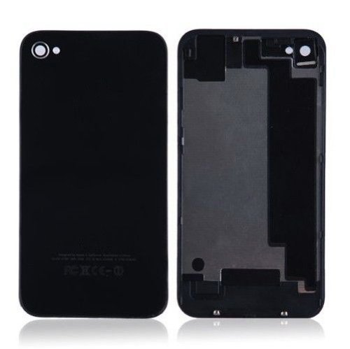 Goliton Back Cover Battery Door Glass Replacement for iPhone 4 4G CDMA A1349 Verizon/Sprint- Black