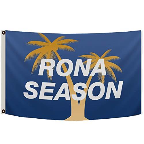 Aihccy Rona Season Nelk Boys College Dorm Frat Full Send Blue Flag Banner 3X5 Feet Man Cave
