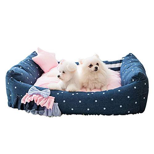 IUYJVR Cuccia per Cani Cuccia per Gatti Cuccia per Gatti, Cuccia per Gatti Super Morbida Cuccia per Gatti, Auto riscaldante e Traspirante Cuccia per Cuccioli Comfort Lavabile in Lavatrice per Gatti