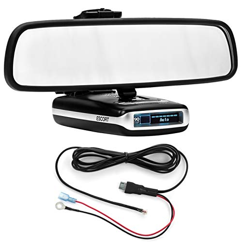 New Radar Mount Mirror Mount Bracket + Direct Wire Power Cord for Escort Max Max2 (3001202)