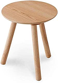 High quality Tables Wooden Nesting Round Rectangular 6 Sizes End Side Sofa Corner Lamp Stand Furniture Home Office (Size :...