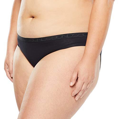 Bonds womens Cottontails Bikini Black 18