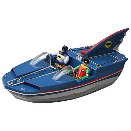 Hallmark Keepsake Christmas 2019 Year Dated DC Comics Batman Classic TV Series Batboat Ornament