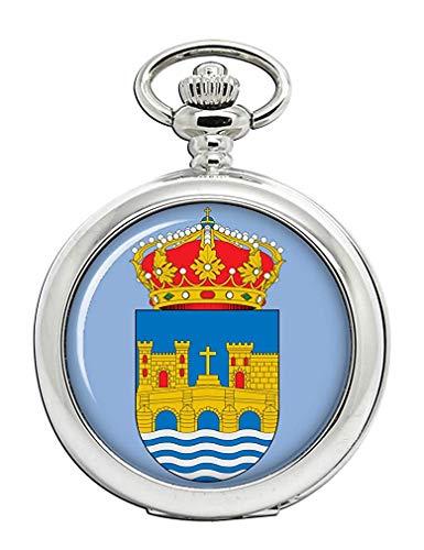 Pontevedra City (España) Reloj Bolsillo Hunter Completo