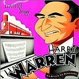 album cover: Capitol Sings Harry Warren