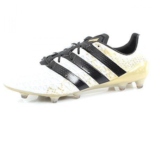 adidas Herren Ace 16.1 Fg Fussballschuh, Multicolore Ftwwht Cblack Goldmt, 41 1/3 EU