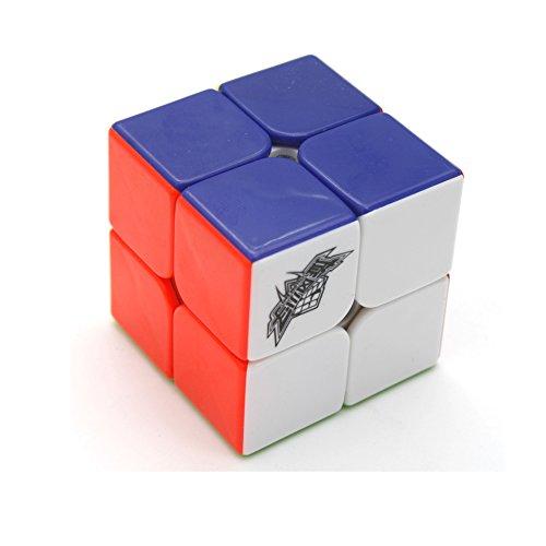 EasyGame Cyclone Boys Cubo mágico de 6 Colores Cubo de Velocidad de Rompecabezas 2x2