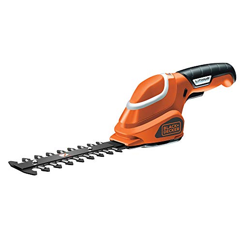 BLACK+DECKER GSL300-QW Sfoltirami a Batteria Litio 3.6...