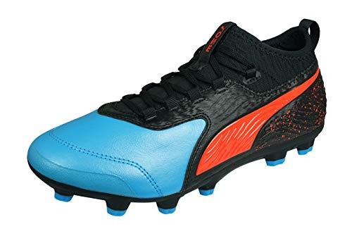 PUMA ONE 19.3 Hard Ground Men s Leather Football Boots-Black-8