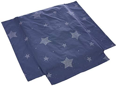 Petitpraia Etoile Azul Noche Colcha Minicuna 50 X 75 Cm - Relleno Incluido - Sin Almohada - Mantas