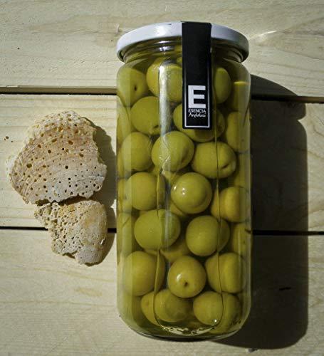 Aceitunas Manzanilla Extra con hueso - Esencia Andalusí Gourmet 700Gr (15 Unidades)