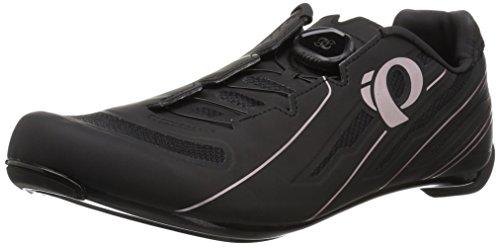 Pearl iZUMi W Race Road V5 - Zapatillas de Ciclismo para Mujer, Negro/Negro, 38.0 M EU (6.8 US)