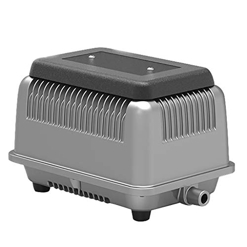LISA Silent Air Pump, Pond Aquarium Hydroponics With Aluminum Alloy Heat Sink, Aquarium Air Pump with Accessories, Oxygen Pump for Fish Tank