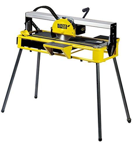 Fartools 113513Elektrischer Fliesenschneider, radial Schnitt 36mm Klinge 200x 22,2x 2mm Tisch neigbar Laservisier 800W
