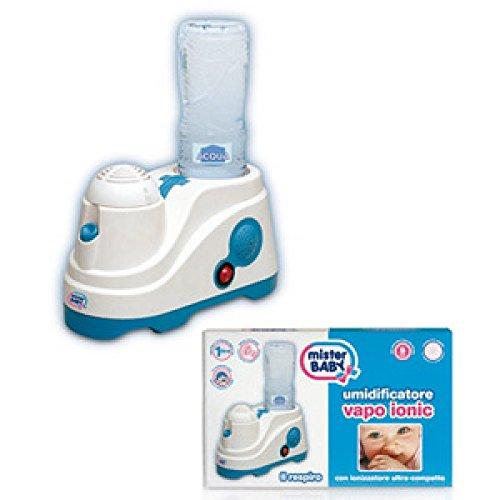 Mister Baby Humidificador con ionizador ultracompacto.