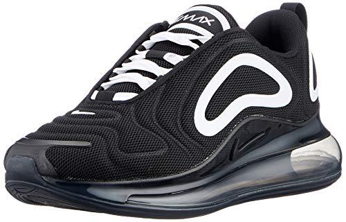 Nike Herren Air Max 720 Men\'s Shoe Laufschuh, Black/White-Anthracite, 45 EU