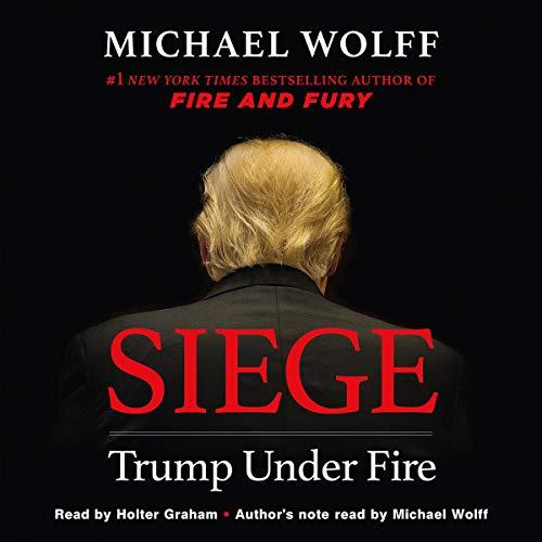 Siege     Trump Under Fire              Auteur(s):                                                                                                                                 Michael Wolff                               Narrateur(s):                                                                                                                                 Holter Graham                      Durée: 11 h et 37 min     Pas de évaluations     Au global 0,0