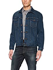 """WESTERN STYLE. Finished with western """"W"""" deco stitching and a heavy-duty brass button closure, this elevated classic will give you the look you love without compromising comfort and style. DURABLE MATERIALS. Crafted from 100% cotton, this unlined wes..."""