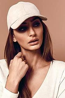 BSSA Women's Reign Suede Cap, Grey, ONE Size